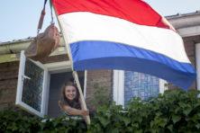 Tas en vlag in de mast, maar waarom?