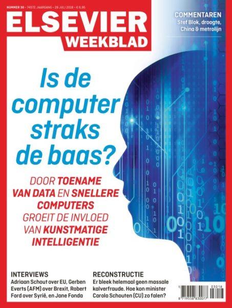 Cover Elsevier Weekblad 30 2018