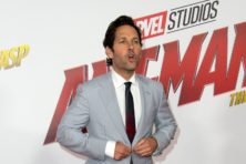 Acteur Paul Rudd, een minuscule superheld