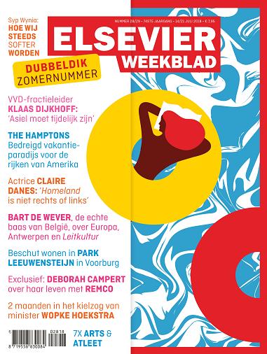 Cover Elsevier Weekblad zomernummer week 28 2018