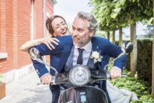 Huwelijk Pepijn Budé (46) en Nicole van Ommen (37)