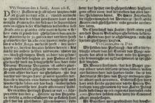 Wat stond er in de eerste Nederlandse krant?