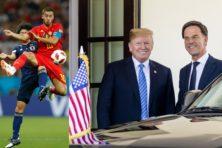 Voetbalgekte? Amerika ziet liever politieke show