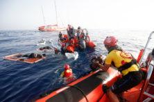 'Minder migranten naar Europa, meer verdrinkingsdoden'