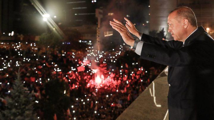 Erdogan wint verkiezingen 2018
