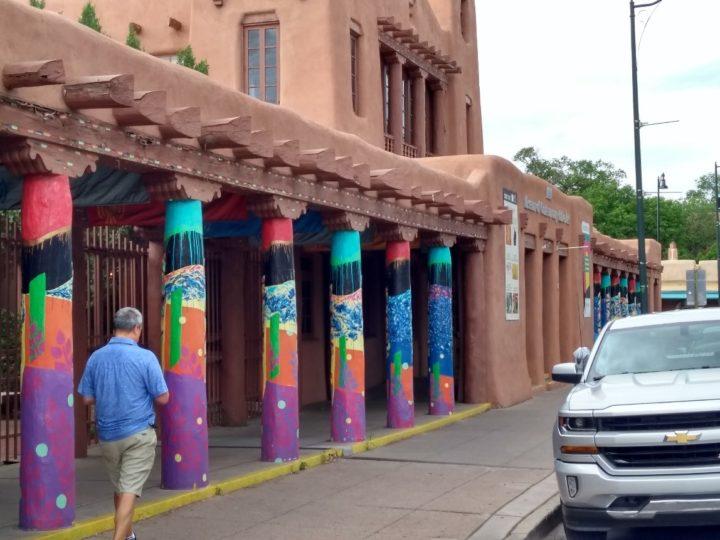 De Pueblo architectuur