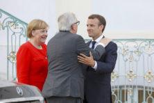 EU-grenswacht is zoveelste onnodige plan Merkel en Macron