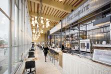 Café & Brasserie De Restauratie: Nostalgie aan het spoor