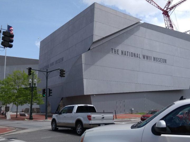 Het Nationale Tweede Wereldoorlog Museum in New Orleans