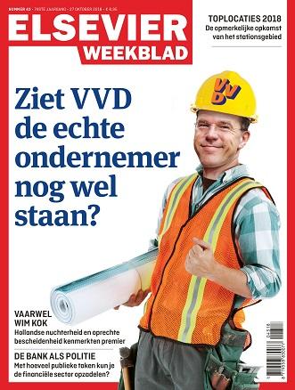 Elsevier Weekblad cover editie nr 43 2018