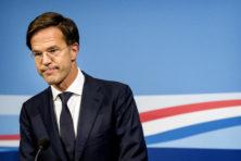 Ruttes dividendplan wankelt, maar hij probeert zich groot te houden