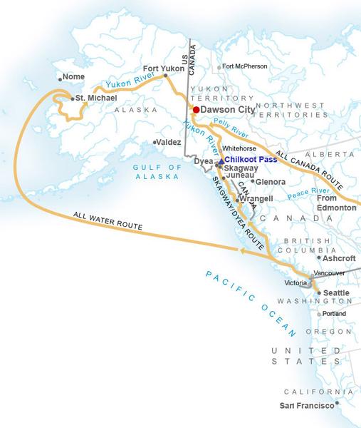 De Klondike Gold Rush