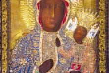Vreemde moderne visie op de Zwarte Madonna