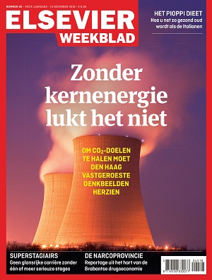 Cover Elsevier Weekblad editie 45 2018