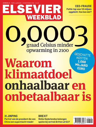 Cover Elsevier Weekblad editie 47 2018