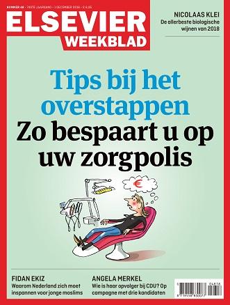 Cover Elsevier Weekblad editie 48