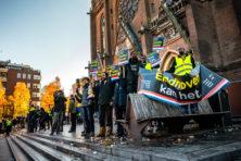 'Geen demonstraties meer tijdens Sinterklaasperiode'