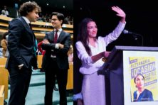 Linkse politici roemen Democraten, vrouwen en minderheden