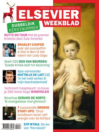 Cover elsevier Weekblad editie 50 Kerstnummer