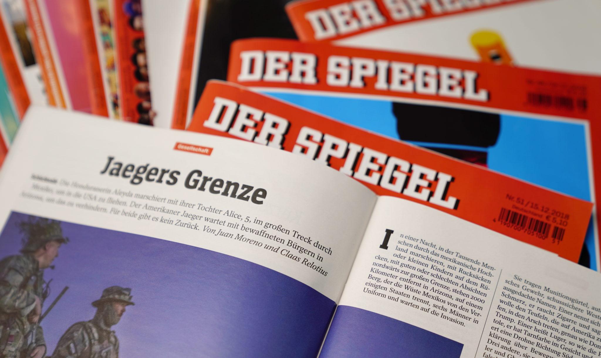 Boek Der Spiegels : Zo verzon journalist der spiegel alles bij elkaar elsevierweekblad