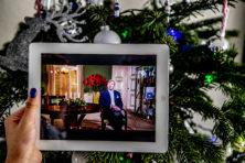 Kersttoespraak: Koning omzeilt politieke kwesties
