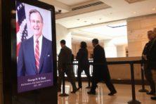 Zo neemt Amerika afscheid van George H.W. Bush