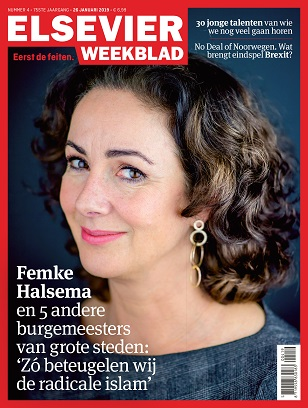 Cover Elsevier weekblad editie 04 2019