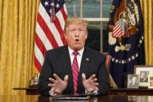 Trumps toespraak brengt geen oplossing voor 'shutdown'