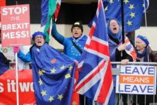 Onnozele Brexiteers zorgen voor feest in Brussel