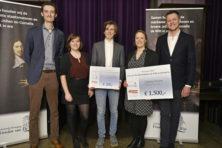 Wie maken kans op zesde Johan de Witt-scriptieprijs?