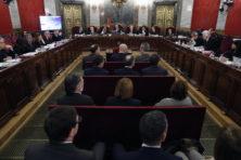 Het martelaarschap van de vervolgde Catalaanse leiders