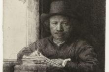 De 'hoogst bizarre' etstechniek van Rembrandt