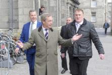 Voormalig spindoctor Farage strijdt nu voor Irexit