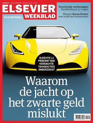 Elsevier Weekblad cover editie 11 2019