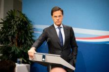 Rutte blikt vooruit naar kabinetten Rutte IV en V