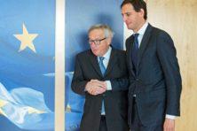Junckers gelijk: Nederland betaalt ondanks stoere praat toch wel
