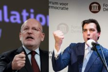 'Idioot', 'gekken', 'getikt': Timmermans en Baudet ruziën erop los