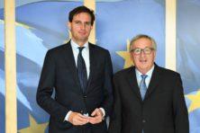 Wopke Hoekstra is nuchtere versie van Juncker