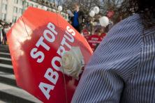 Het recht om tegen abortus te protesteren