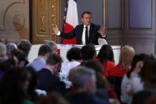 Macron strompelt de Europese verkiezingen in