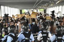 Hongkong-Chinezen vechten voor westerse waarden