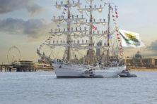 Historische tallships te bewonderen in Scheveningen