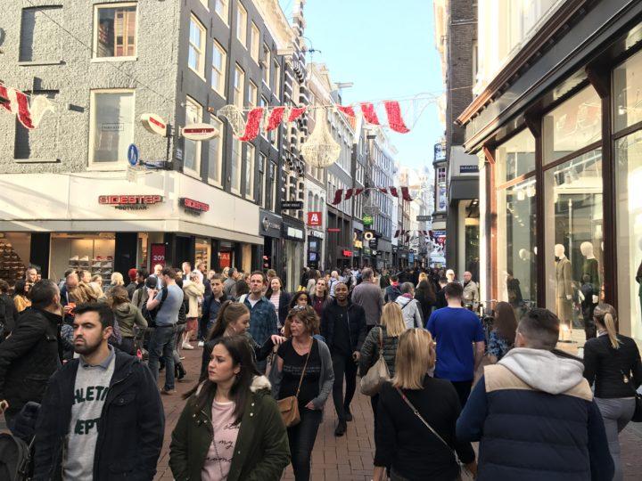Kalverstraat winkelen