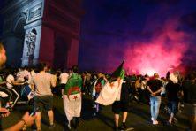 Algerijnen plunderen in Parijs: rellen aan de orde van de dag