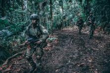 Op jungletraining met het Korps Mariniers