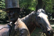 Op bezoek in het zomerverblijf van Abe Lincoln