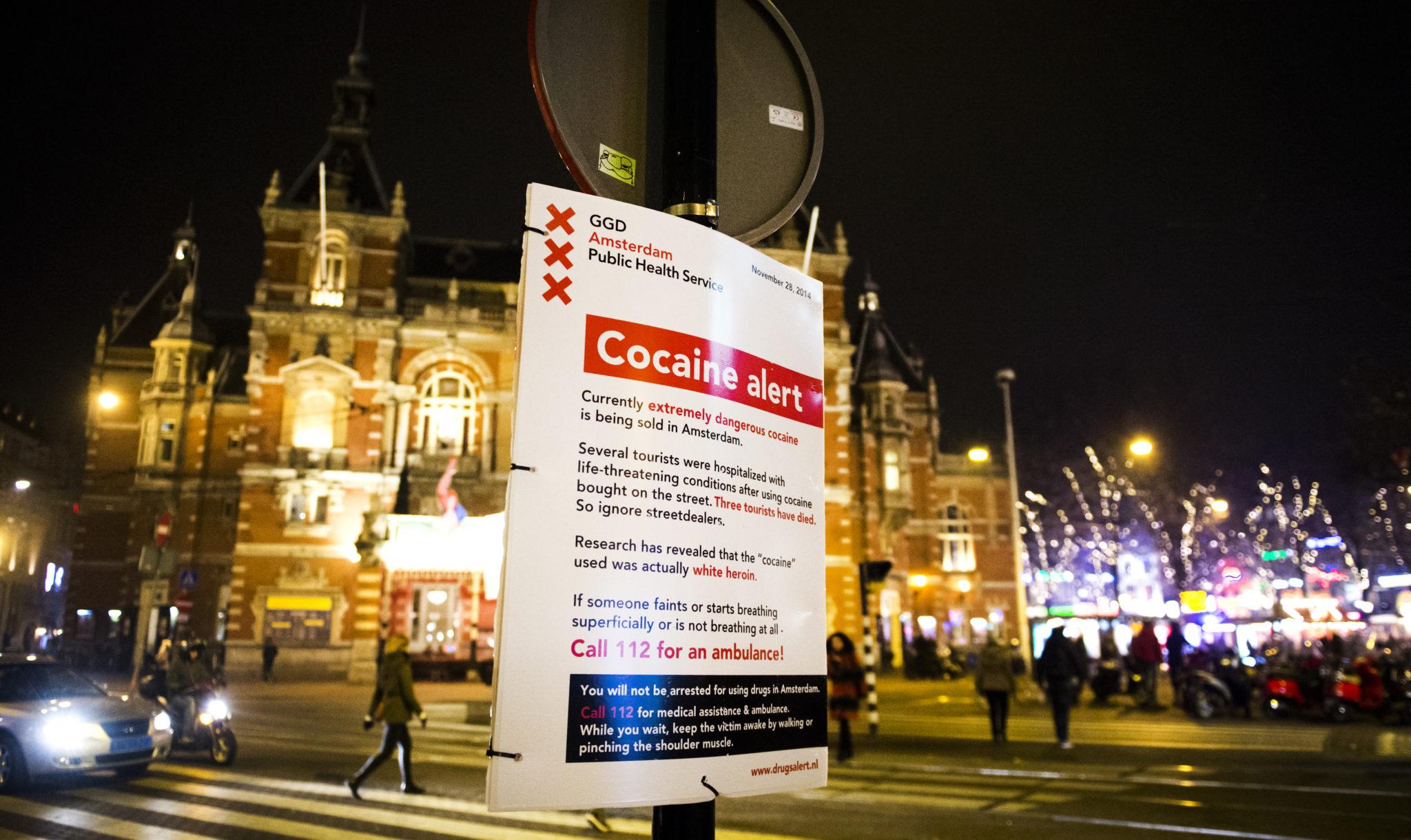 Drugsmisdaad ontwricht Amsterdam: 'Ga handhaven!' - Elsevier