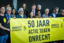 Amnesty tegenwoordig solidair met mensenrechtenschenders