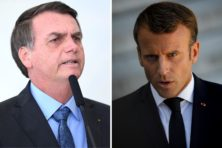Amazonebranden: Bolsonaro woest op Macron