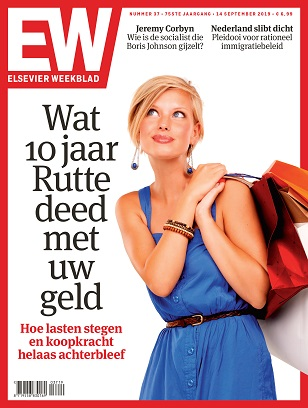 Cover Elsevier Weekblad editie 37 2019